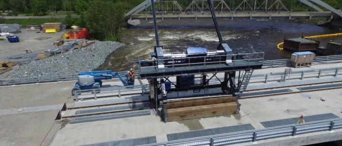 Gantry cranes / log lifter