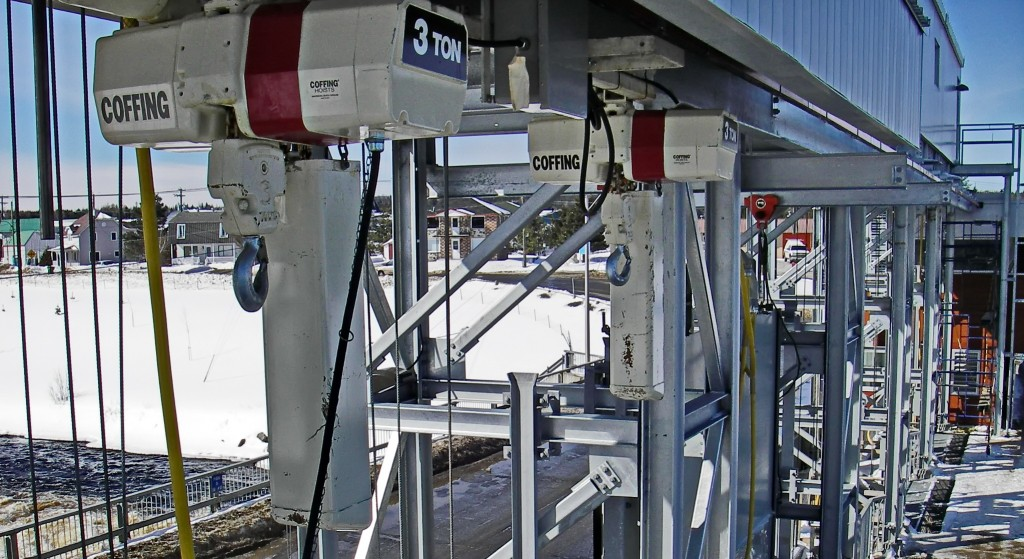 Monorail Hoist Mecan Hydro