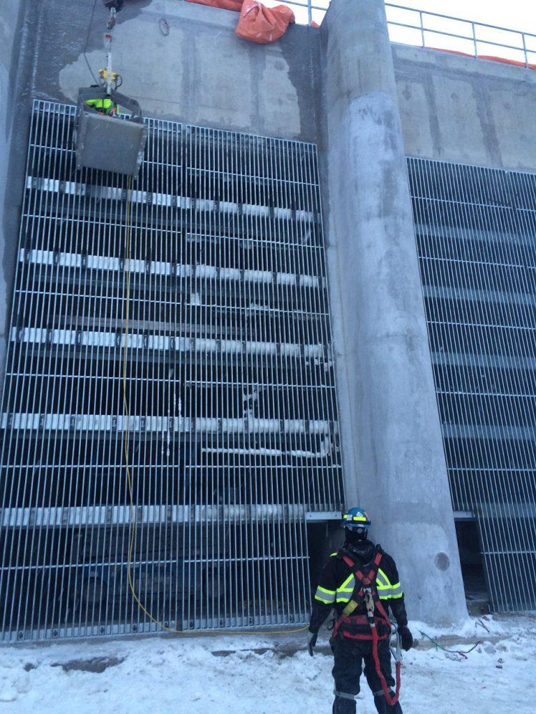 Stainless And Galvanized Steel Trashracks Mecan Hydro
